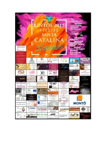 Cartel fiestas Santa Catalina 2017_001