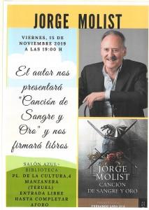 cartel Jorge Molist