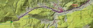 mapa zona acampada