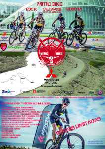 poster mitic bike by Mitsubishi